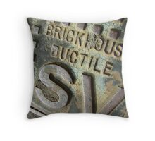 Brickhouse Ductile Throw Pillow