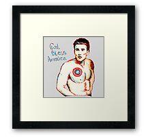 Captain America: God Bless America Framed Print