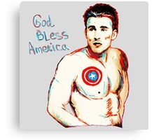 Captain America: God Bless America Canvas Print