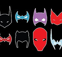 Bat Family by Dorothy Timmer