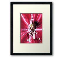 CHANGO - Orisha of Thunder & Lightning Framed Print