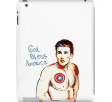 Captain America: God Bless America iPad Case/Skin