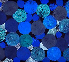 DEADLY BLUE FLOWERS by JaneAParis