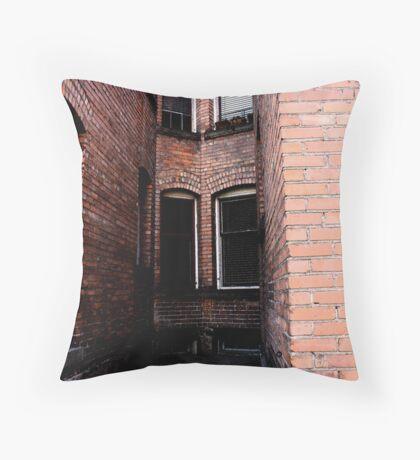 University Apartments Throw Pillow