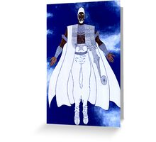 OBATALA - Orisha of the White Cloth Greeting Card