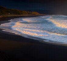 West Coast sunset 13 October 09 by Paul Mercer