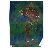 OCHOOSI - Orisha of Justice Poster