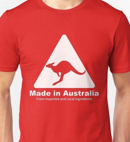 Made in Australia (White) Unisex T-Shirt