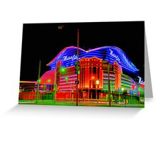 Motor City Lights Greeting Card
