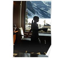 A Work Space ~ Lake Louise Window Series Poster