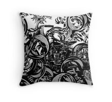 The Lines of a Classic Throw Pillow