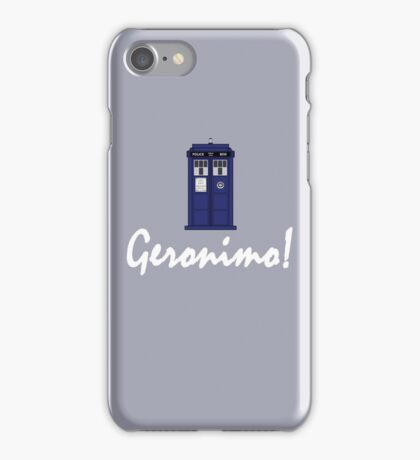 """Geronimo!"" iPhone Case/Skin"