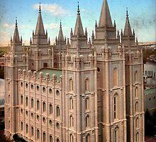 Salt Lake Temple - Heaven's View by Ryan Houston