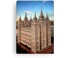 Salt Lake Temple - Heaven's View Canvas Print