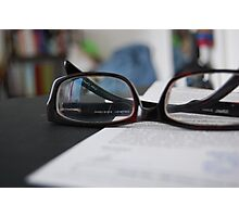 spectacles Photographic Print