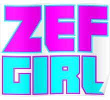 ZEF GIRL Poster