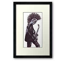 Guitar Punk Framed Print