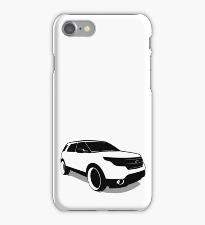 Ford Explorer iPhone Case/Skin