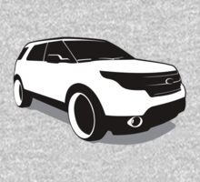 Ford Explorer One Piece - Long Sleeve