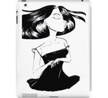 Lush Haired Girl iPad Case/Skin