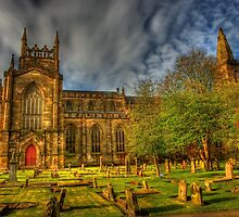 Dunfermline Abbey Scotland -  Historical Site  by Susan Dost