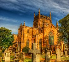 Dunfermline Abbey Scotland by Susan Dost