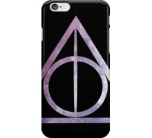 Deathly Hallows: Purple Stars iPhone Case/Skin