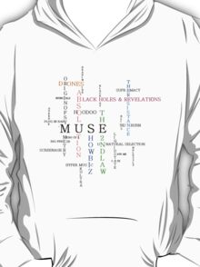 Muse songs and albums T-Shirt