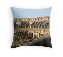 The Colloseum bathed in morning light Throw Pillow