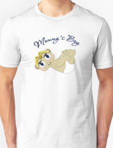Mommy's Boy Blonde and Blue Eyes T-Shirt