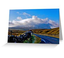 The Road to Whernside Greeting Card