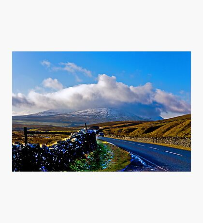 The Road to Whernside Photographic Print