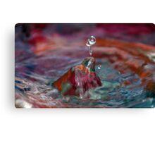 Water Sculpture Canvas Print