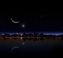 Gotham Nights by Katya Lavorovna