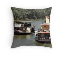 Emmylou and Pride of the Murray Throw Pillow