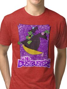 Halloween T-Shirt 2009 - Hi Ho Dustbuster Tri-blend T-Shirt