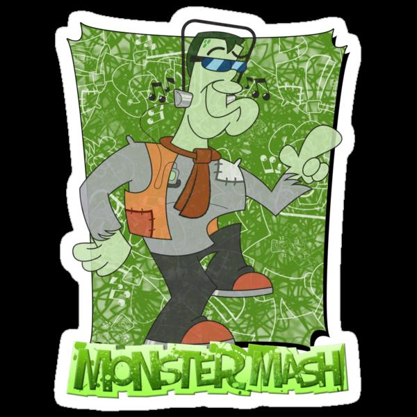 Halloween T-Shirt 2009 - Monster Mash by Sketchaholic