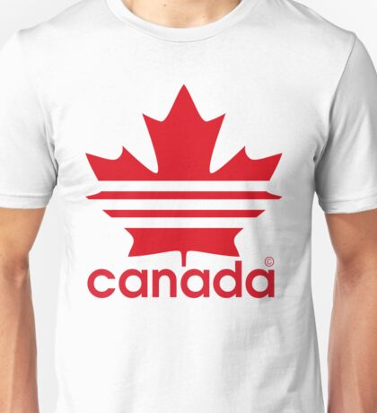Canada Sport Maple Leaf Unisex T-Shirt