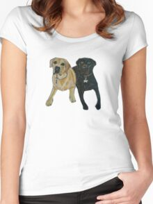Daisy and Cocoa Women's Fitted Scoop T-Shirt