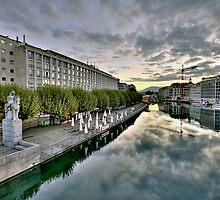Geneva Morning HDR 10 by David Freeman