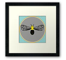 Hibiscus Bee Framed Print