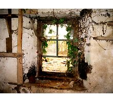 The Old Window Photographic Print