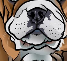 Bulldog Pup Sticker
