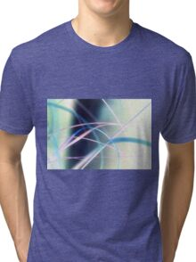 Blowing in the wind - abstract 3 Tri-blend T-Shirt
