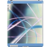 Blowing in the wind - abstract 3 iPad Case/Skin