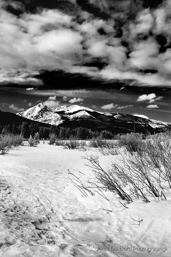 Winter Comes To The Valley by John  De Bord Photography