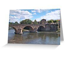 River Garonne Greeting Card