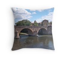 River Garonne Throw Pillow