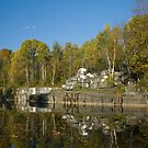 Early Fall at the Quarry by Deborah Austin