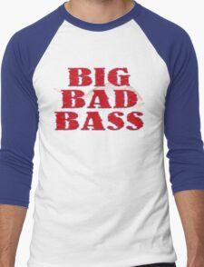 Big Bad Bass Men's Baseball ¾ T-Shirt